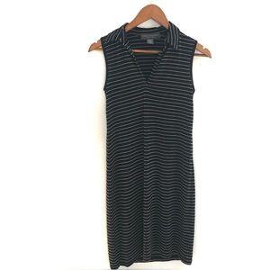 Banana Republic Sleeveless Striped Dress, Size XS